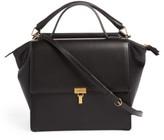 Balenciaga Collage Double Calfskin Leather Bag - Black