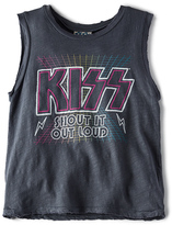 Junk Food Clothing Kiss Shout Out Loud Tank