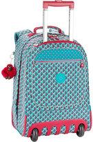 Kipling Wheeled crinkled-nylon backpack