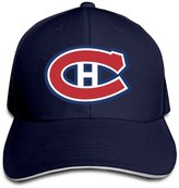 BOoottty Montreal Canadiens Logo Flex Baseball Cap