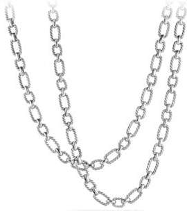 David Yurman Cushion Link Chain Necklace with 18K Gold