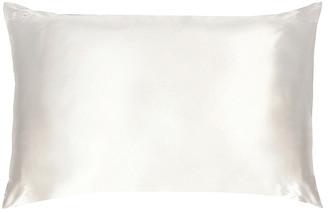 Slip King Pure Silk Pillowcase in White | FWRD