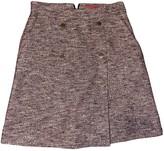 HUGO BOSS Purple Cotton Skirt for Women