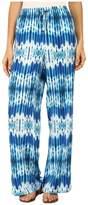 Calvin Klein Printed Wide Leg Pants
