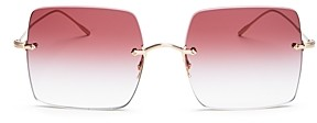 Oliver Peoples Women's Oishe Rimless Square Sunglasses, 57mm