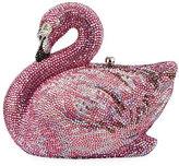 Judith Leiber Couture Avalon Flamingo Crystal Clutch Bag