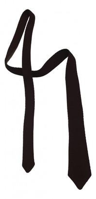 Gucci Burgundy Cotton Ties