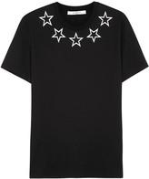 Givenchy Black Star-print Cotton T-shirt