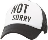 Charlotte Russe Not Sorry Baseball Hat