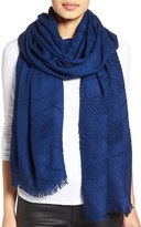 Echo Women's Pleated Blanket Scarf