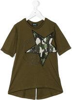Diesel sequin star T-shirt - kids - Cotton/Polyester - 6 yrs