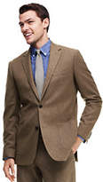 Lands' End Men's Tailored Fit Wool Flannel Sportcoat-Wheat