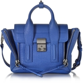 3.1 Phillip Lim Cobalt Blue Leather Pashli Mini Satchel
