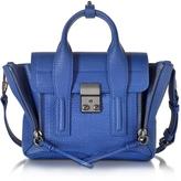 3.1 Phillip Lim Cobalt Blue Leather Pashli Mini Satchel
