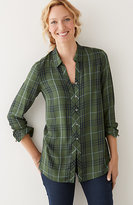 J. Jill Yarn-Dyed Plaid Shirt