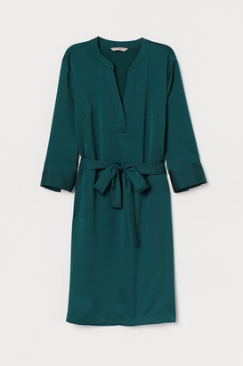 H&M Dress with a tie belt