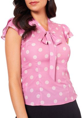 Alannah Hill Take Me Now Blouse Dusty