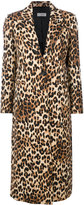 Alberto Biani leopard print coat
