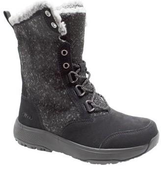 Winter Tecs Women's Microfleece Lace Winter Boot Black