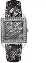 GUESS Python Print Metallic Leather Ladies Watch U0050L1