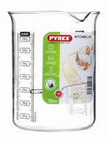 Pyrex 750 ml Kitchen Lab Measure and Mix Beaker