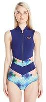 Roxy Women's Pop Surf Sleeveless Onesie One Piece Swimsuit