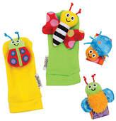 Lamaze Tomy Gardenbug Wrist Rattle Footfinder Activity Toy