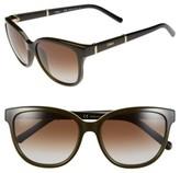 Chloé Women's 'Daisy' 54Mm Sunglasses - Khaki
