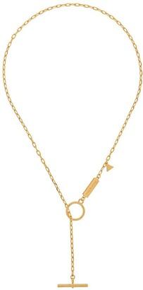 Coup De Coeur T-bar chain necklace