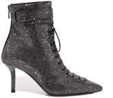 Philosophy di Lorenzo Serafini Rhinestone Ankle Strap Lace Up Boots