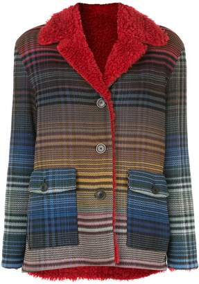 Missoni gradient-effect plaid jacket