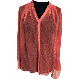 Matthew Williamson \N Orange Silk Top for Women