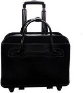 """McKlein Mckleinusa Willowbrook 15"""" Leather Patented Detachable - Wheeled Ladie' Laptop Briefcae ()"""