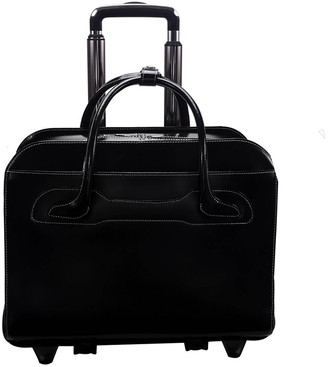 "Mckleinusa McKlein Willowbrook 15"" Leather Patented Detachable - Wheeled Ladie' Laptop Briefcae ()"