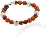 Tane Handcrafted Silver & Amber Bracelet