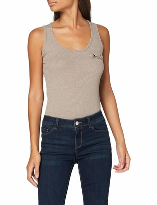 Morgan Women's Debardeur Lurex Chaine Deric T-Shirt