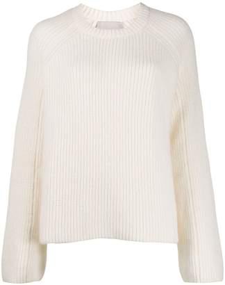 Laneus cable knit jumper