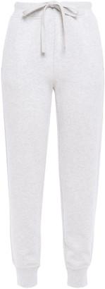 Vince Melange French Cotton-blend Terry Track Pants