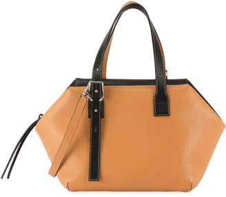 Loewe Cube Two-Tone Top-Handle Bag