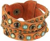 Leather Rock B508 Bracelet
