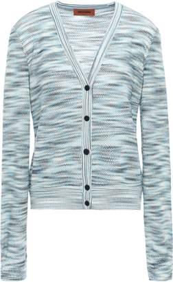 Missoni Marled Crochet-knit Wool Cardigan