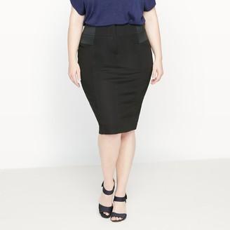 Castaluna Plus Size Knee Length Pencil Skirt