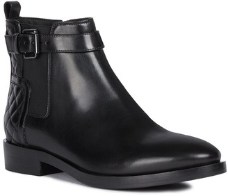 Geox Donna Leather Ankle Boot