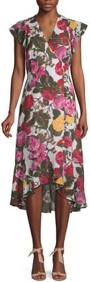 Rachel Roy Floral Midi Dress
