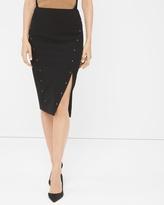 White House Black Market Studded Pencil Skirt