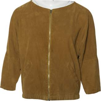 STOULS Yellow Suede Jackets
