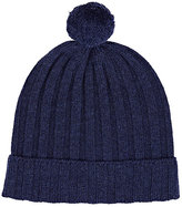 Barneys New York MEN'S WOOL-CASHMERE POM-POM BEANIE
