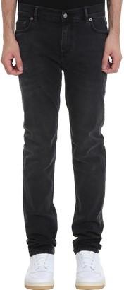Acne Studios North Used Jeans In Black Denim