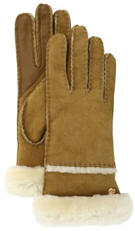 UGG Seamed Tech Glove - Chestnut, Large