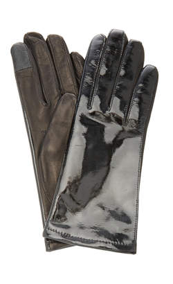 Maison Fabre Patent Leather Gloves